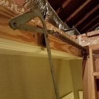 Attic Pull Down Stairs Repair