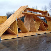 Attic Roof Trusses