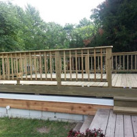 Decking Attic Above Garage