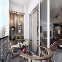Small Balcony Interior Design