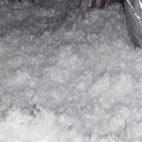 White Attic Insulation