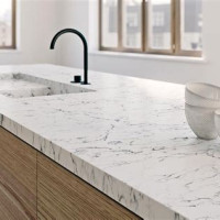 White Attica Quartz Countertop