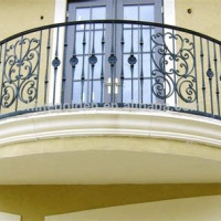 Wrought Iron Balcony Railings Sydney